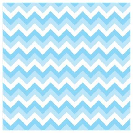 Наволочка JoyArty белый, голубой 45x45