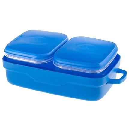 Набор контейнеров Ferplast PET RISTO для корма (19,6 x 12,5 x 7,4 см, Синий)