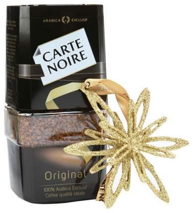 Набор кофе Carte Noire растворимый с елочной звездой 95 г