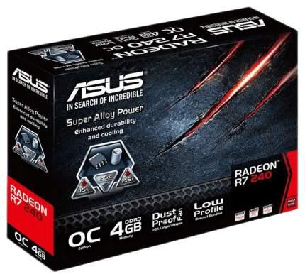 Видеокарта ASUS Radeon R7 240 (R7240-OC-4GD3-L)