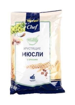 Мюсли Chef хрустящие с орехами 1 кг