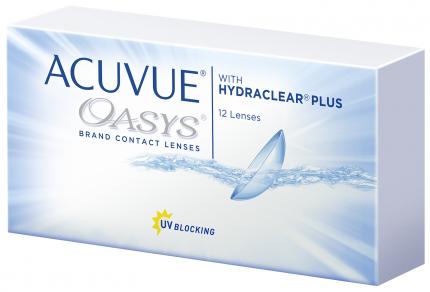 Контактные линзы Acuvue Oasys with Hydraclear Plus 12 линз R 8,4 +8,00