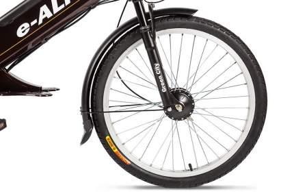 """Электровелосипед Eltreco e-ALFA 2018 18.5"""" brown"""