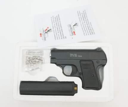 Страйкбольный пружинный пистолет Galaxy (кал. 6 мм) G.9A (мини Colt 25 с глушителем)