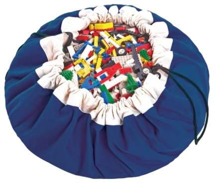 Мешок Play&Go для игрушек и игровой коврик 2 в 1 коллекция Classic (синий)