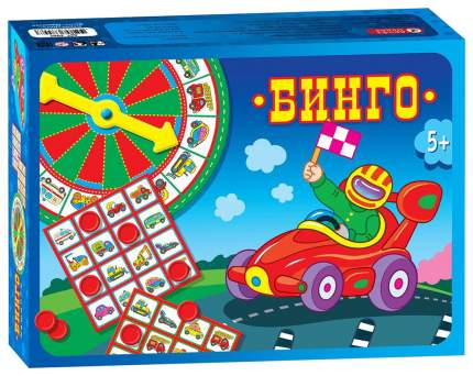 Дрофа-медиа Настольная игра Бинго. Машинки, арт. 2961