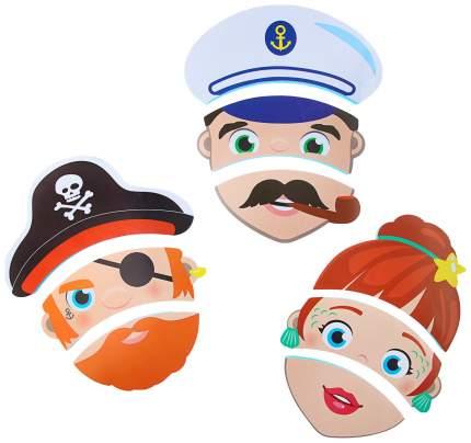 Набор игрушек для ванны «Изучаем профессии»: пазлы из EVA, 3 шт. Крошка Я