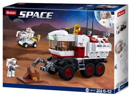 Конструктор пластиковый Sluban Космический марсоход M38B0737
