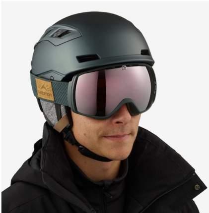 Горнолыжный шлем Salomon Qst Charge 2019, черный, M