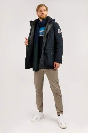 Пуховик мужской Finn Flare W19-22010F синее XL