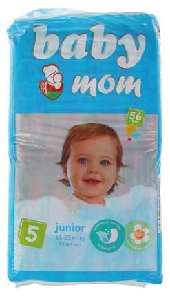 Подгузники Baby Mom, размер Junior (11-25 кг), 56 штук