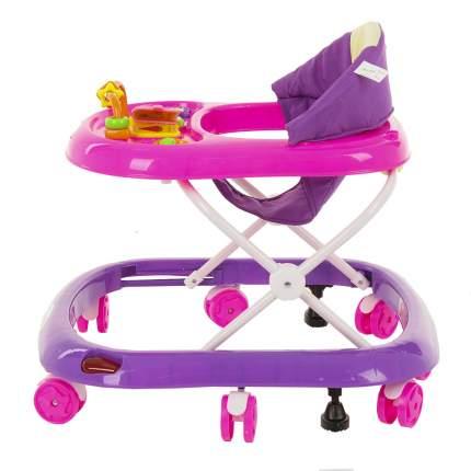 Ходунки Bambola Обучайка Pink+Purple