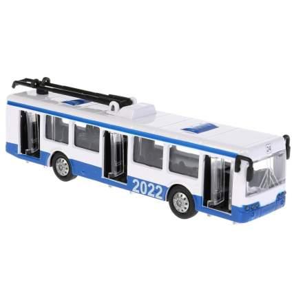 Троллейбус металлический Технопарк 16,5см