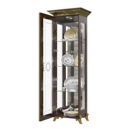Платяной шкаф Мэри-Мебель Версаль ГВ-01 1073054 66х48х201, орех тайский