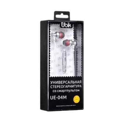 Наушники Ubik UE 04M Grey