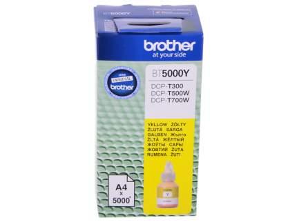Чернила для струйного принтера Brother BT-5000Y, желтый, оригинал