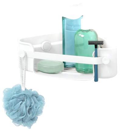 Полка для ванной Umbra Flex угловая Белая