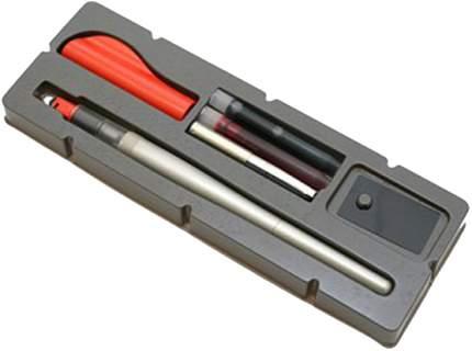 Каллиграфическая ручка Pilot parallel pen 1,5 мм красный черный