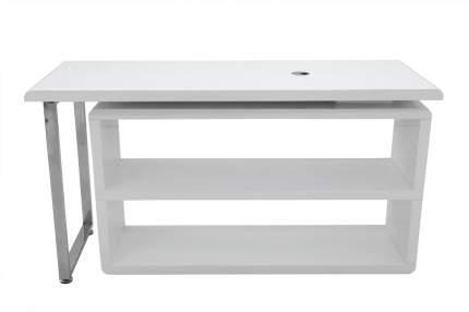 Письменный стол Hoff 80310530, серебристый/белый