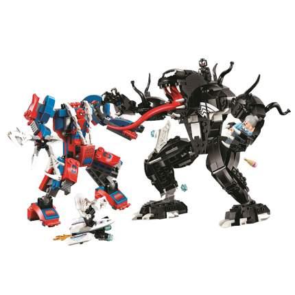 Конструктор пластиковый BELA 11188 Человек-паук против Венома