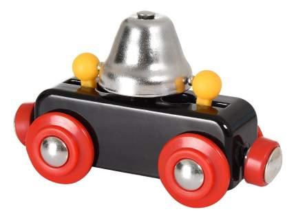 Вагон с сигнальным колокольчиком деревянной железной дороги Brio 33749