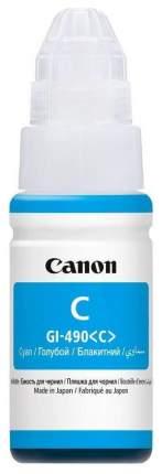 Картридж для струйного принтера Canon GI-490 C голубой, оригинал