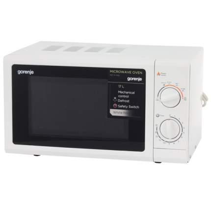 Микроволновая печь соло Gorenje MO17MW black/white