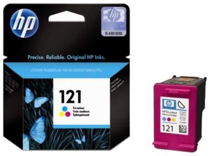 Картридж для струйного принтера HP 121 (CC643HE) цветной, оригинал