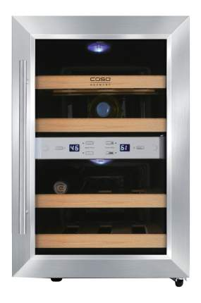 Винный шкаф CASO WineDuett 12 Silver