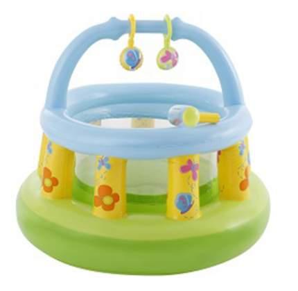Intex детский надувной манеж 130х104см