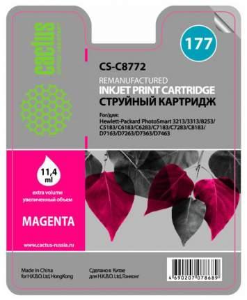 Картридж для струйного принтера Cactus CS-C8772