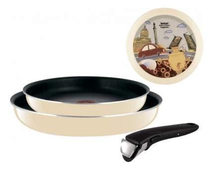 Набор сковород Tefal l Ingenio с рисунком 3шт 24 и 28см