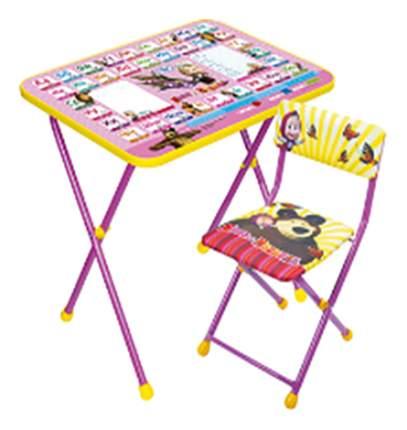 Набор мебели Ника Детям Маша и Медведь Азбука 3 розовый