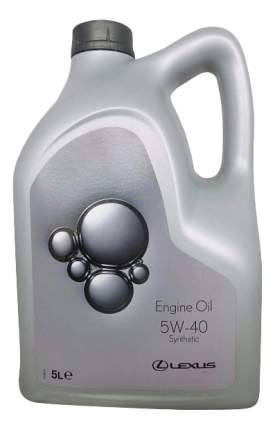 Моторное масло Toyota Lexus Engine Oil Synthetic 5W-40 5л