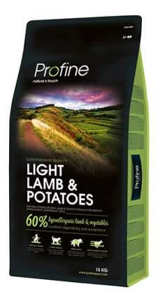 Сухой корм для собак Profine Light Lamb & Potatoes, баранина, картофель, 15кг