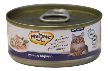 Консервы для кошек Мнямс, тунец, дорадо, 70г