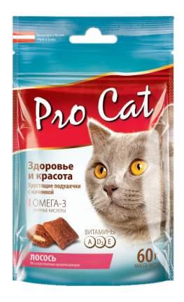 Лакомство для кошек PRO CAT Здоровье и красота с Лососем, 60г