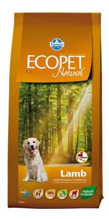 Сухой корм для собак Farmina Ecopet Natural Maxi, для крупных пород, ягненок, 12кг