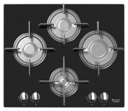 Встраиваемая варочная панель газовая Hotpoint-Ariston DFPK 644 GH (K) Black