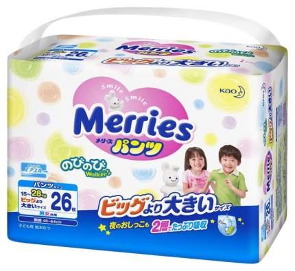 Подгузники-трусики Merries ХХL (15-28 кг), 26 шт.