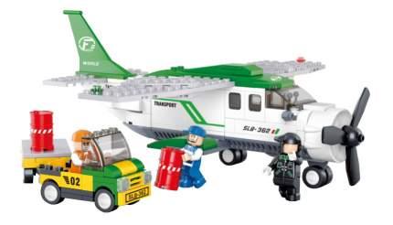 Конструктор пластиковый Sluban Транспортный самолет