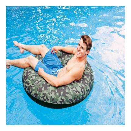 Круг для купания INTEX Круг камуфлированный 119 см