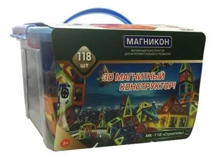 Конструктор магнитный Магникон Строитель