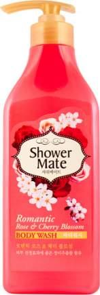 Гель для душа SHOWER MATE Роза и вишневый цвет, 550 мл