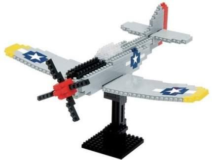 Конструктор NANOBLOCK Самолет P-51 Мустанг (NBM_005)