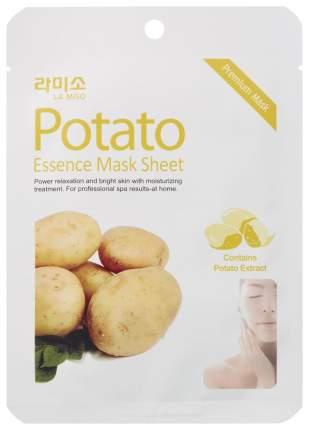 Маска для лица LA MISO Potato essence Mask Sheet 21 г