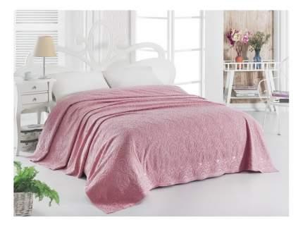 Простыня KARNA ESRA 200x220 см розовый