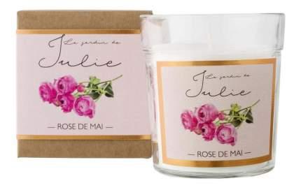 Ароматическая Le Jardin de Julie свеча Майская роза VV008RMLJ