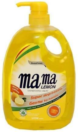 Гель для мытья посуды и детских принадлежностей Mama Lemon Gold 1л