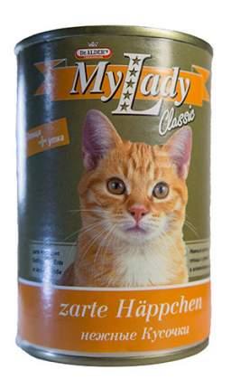 Консервы для кошек Dr. Alder's My Lady Classic, с птицей и уткой в соусе, 415г